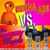 Mecha-Ape Vs. the Fro-bot Wizards, an Afroglitchmix tape